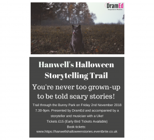 Read more about the article Hanwells Halloween Storytelling Trail