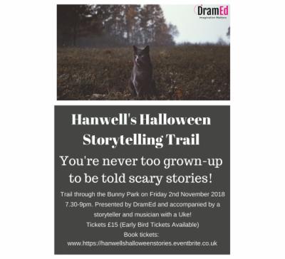 Hanwells Halloween Storytelling Trail